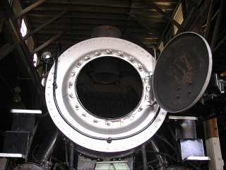 the smokebox from the front