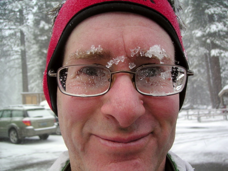 snow covered eyebrows
