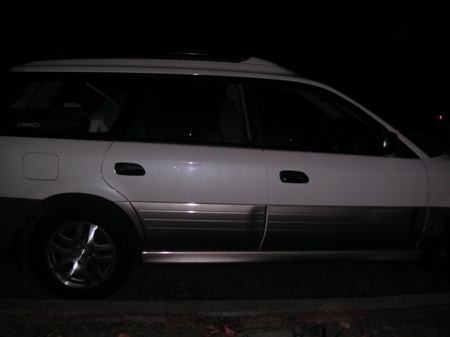 a newer outback wagon